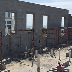 Building With Concrete Block vs  Wood-Framed Construction